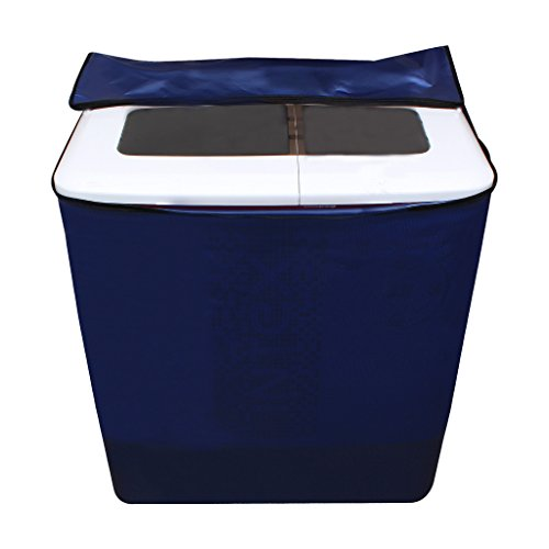 Lithara Blue Waterproof & Dustproof washing Machine Cover For panasonic Semi Automatic Top Load -All size model  available at amazon for Rs.359