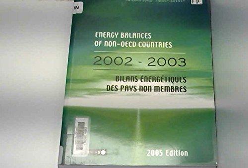 Energy Balances of Non-oecd Countries 2002-2003