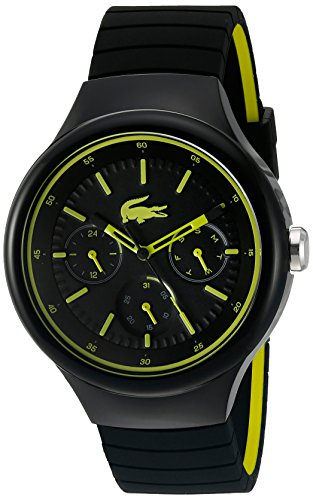 Lacoste Men's Analogue Quartz Watch with Silicone Strap 2010867