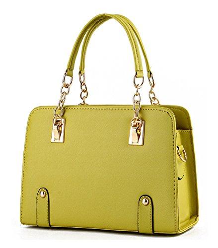Keshi Pu Cool Damen Handtaschen, Hobo-Bags, Schultertaschen, Beutel, Beuteltaschen, Trend-Bags, Velours, Veloursleder, Wildleder, Tasche Grün