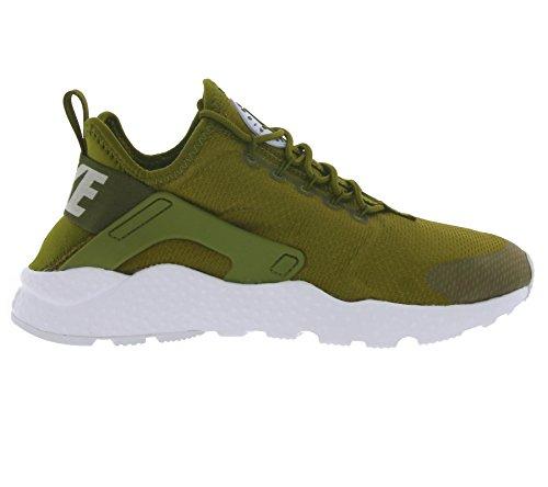 Nike W Air Huarache Run Ultra, Chaussures de Running Entrainement Femme Verde (Verde (olive flak/white))