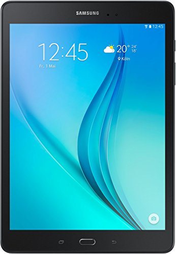 Samsung Galaxy Tab A T550N 24,6 cm (9,7 Zoll) WiFi Tablet-PC (Quad-Core, 1,2 GHz, 16 GB, Android 5.0) schwarz