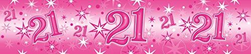 Pioneer Europe- Pancarta de fiesta, Color rosa (45560)