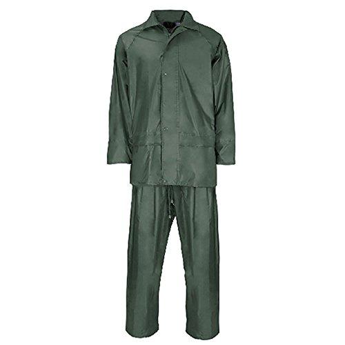 Wasserdichte Regenjacke-Set mit Jacke und Hose Set Fishing Camping Bundeswehr Herren Anzug