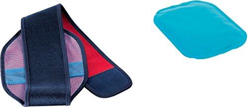 SENSIPLAST® Wärme-/Kälte-Kompresse Set mit Befestigungsgurt (Knie-, Fußgelenk, Ellenbogen)