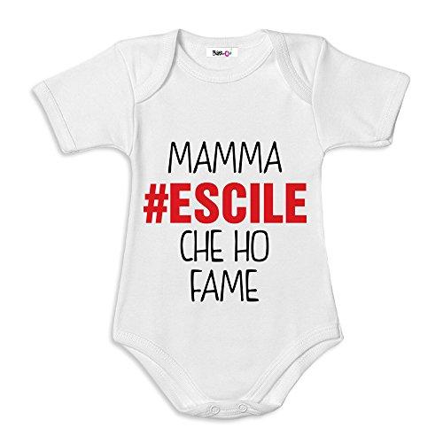 3e00c5e8850df4 Caratteristiche ed informazioni su body neonato bodino idea regalo festa  della mamma mamma escile ...