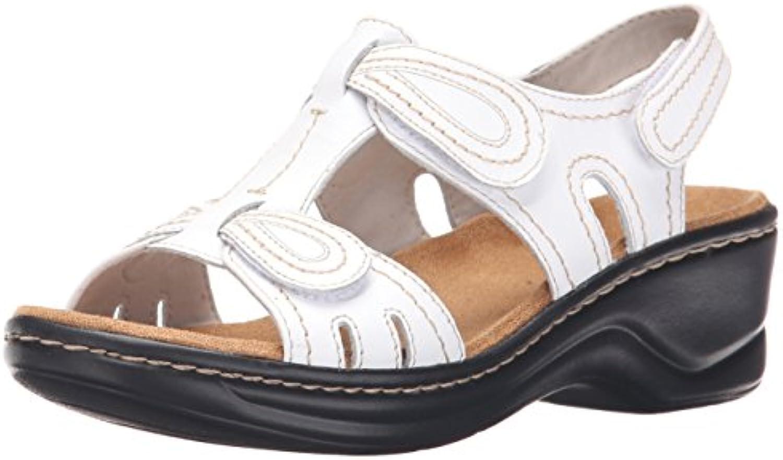 clarks woHommes 's 's 's lexi walnut chaussure, blanc, 12 large nous b00tigt382 parent 8a9546