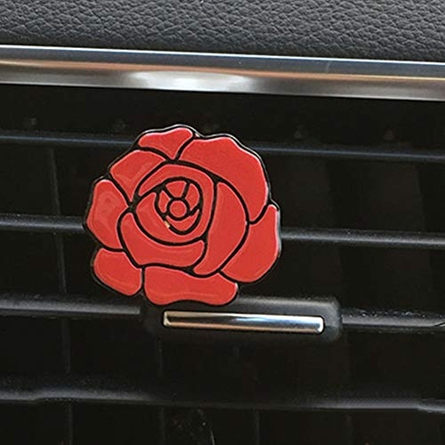 DC CLOUD Rosen-Auto-Parfüm-Clip Broadcast-Wind-Clip Öle Air Outlet Diffusor-parfüm-Clip Auto-Teile-parfüm-Clip Premium-qualität-parfüm-Clip Clip Parfüm red