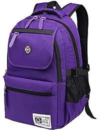 b3cd9fa8ba Niceeday School Bags for Girls Scuola Zaino per Ragazzi Business Laptop  Zaino Vita Impermeabile da Scuola