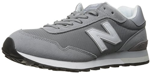 New Balance Classics Traditionnels Grey Mens Trainers Steel/White
