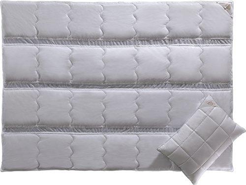 CLIMA FEEL- Luxus Bettdecken- Hypoallergen- Kühles Schlafen- Luxus Bettwäsche von White Boutique- 195/215 cm- 2 Stück