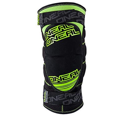 O\'Neal Sinner MX DH Knie Schoner Protektor Grün Moto Cross Downhill Knieschoner Enduro Cross, 0268-3, Größe Large