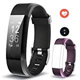 Smart Fitness Band, Muzili Activity Tracker with Heart Rate Monitor, Sleep Monitor Activity