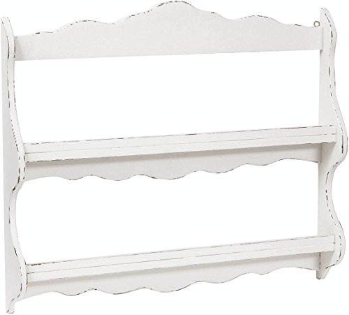 Piattaia-Country-in-legno-massello-di-tiglio-finitura-bianca-anticata-84x12x68-cm