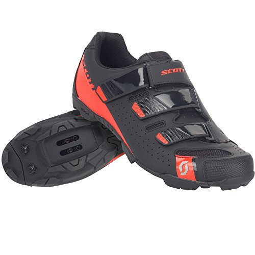 Scott 251834, Zapatillas MTB Comp RS ma bl/GL Red 43.0 Unisex Adulto