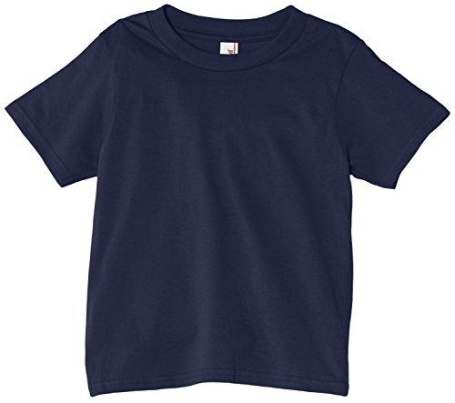 Anvil Jungen Basic T-Shirt/990B, Gr. 152 (L), Blau - Navy Uniform Schule
