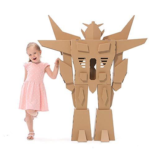 Erstellen Eigenen Sie Spiel Ihre Kostüm - ROCK1ON DIY Doodle Karton Spielhaus Kinder Roboteranzug Rollenspiel Pappe Spielzeug Färbung Malen Indoor Im Freien Kreatives Weihnachten Alter 3-13
