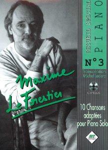Maxime le Forestier : recueil spécial piano n° 3...