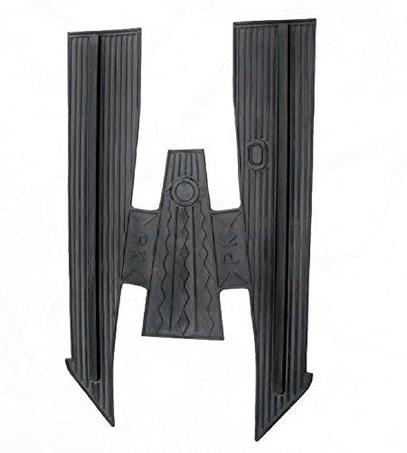 Preisvergleich Produktbild RMS Teppich Gummi schwarz Vespa PK 50Rubber Mat Black Vespa PK 50