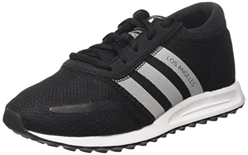 adidas Unisex-Erwachsene Los Angeles Sneaker, Schwarz (Core Black/Footwear White/Core Black), 44 2/3 EU (Angeles Black Los White And)