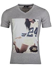 Rugby Division VMC Casting Graphique - T-Shirt de Rugby - Gris
