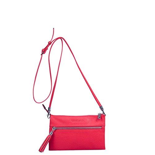 Kesslord  Ophelie, Damen Umhängetasche Rot - Rouge (Rouge)