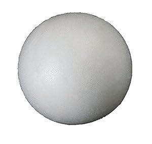 Italveneta Didattica 9005-Juego 23Bolas de poliestireno diámetro 80mm Blanco