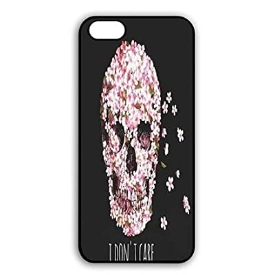 SAND RAEC RUCER iPhone Hard Skin Coque Cover Shell Case, iPhone Dust Proof Lightweight Housses Cool Painting Skull de SAND RAEC RUCER