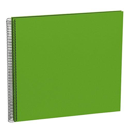 Semikolon (352907) Spiral Album Large lime (hell-grün) - Spiral-Fotoalbum mit 50 Seiten u....