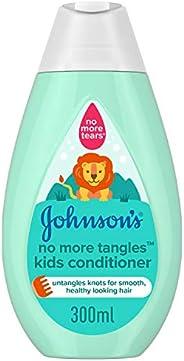 JOHNSON'S Toddler & Kids Conditioner, No More Tangles, Formula Free of Parabens & Dye