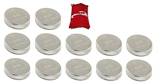Dimensioni 675Batterie per apparecchi acustici (Zinc Air