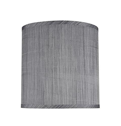 """Aspen Creative 32105–9kleine, gebundenen Empire Form Kronleuchter Wechselrahmen Lampe Set (9Pack), Transitional Design in grau und schwarz, 15,2cm Breite unten (7,6x 15,2x 12,7cm), grau, schwarz, 10"""" x 10"""" x 10"""""""