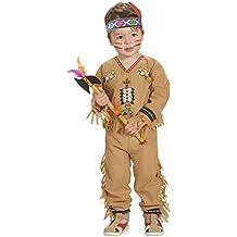 Disfraz de indio para niño - de 2 a 3 años