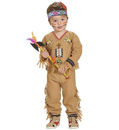 Widmann 4892B - Indianer Outfit für Jungen 98 (1-2 ()
