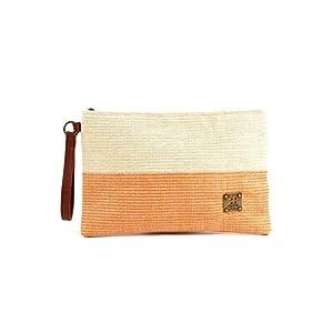 For Time Bandas Nature, Bolso de mano con correa Tricolor para Mujer, 30×19 cm