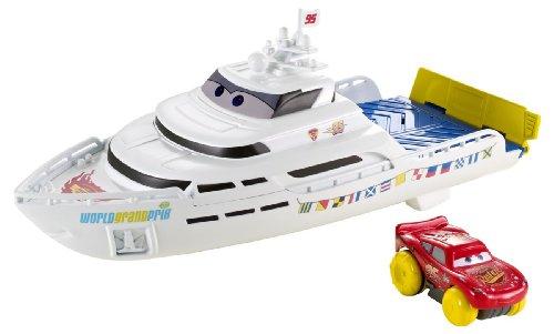Mattel Disney Cars Y1168 - Porto Corsa Wasser-Rennboot (Cars Disney Spielzeug Wasser)