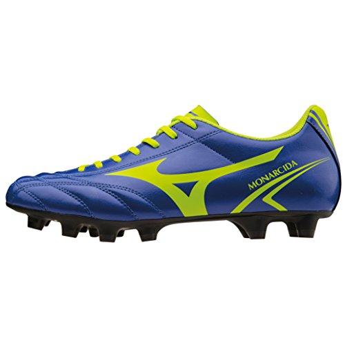 Mizuno Chaussures de Football Monarcida MD p1ga162437bleu-vert VIOLET