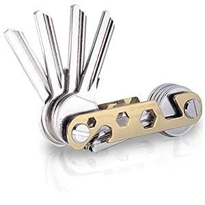 NEU – Hades Key Organizer Premium in edler Geschenkbox- Schlüsselhalter bis zu 16 Schlüssel & Smartphone Halter…