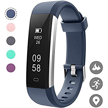 HOTSO Reloj Inteligente ID115U Smartwatches (Azul): Amazon.es ...