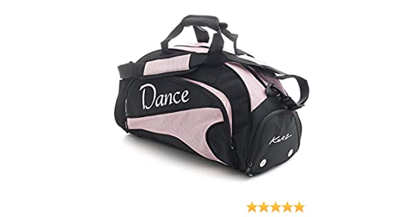 ccab7d2dbfe3 Katz Dancewear Girls Ladies Medium Sparkly Pale Pink Dance Ballet Tap Kit  Holdall Sports Bag KB95  Amazon.co.uk  Sports   Outdoors