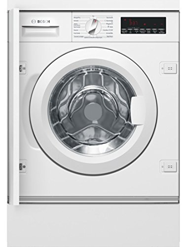 Bosch 8�Series wiw28440�Integrated Front Loading 8�kg 1355rpm A + + + White���Washing Machine (Built-in, Front Loading, White, Left, 130��, White)