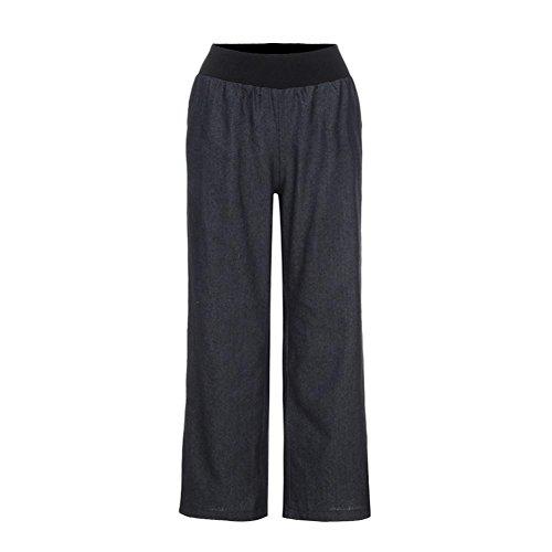 lastizität Denim Breite Bein Palazzo Damen Jeans Hose (Damen-guess Jeans-größe 32)