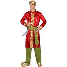 Atosa - 22783 - Disfraz Hindu- talla M-L - Color Rojo para Hombre Adulto