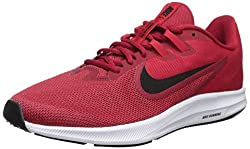 Nike Herren Downshifter 9 Laufschuhe, Rot (Gym Red/Black-University Red-White 600), 41 EU