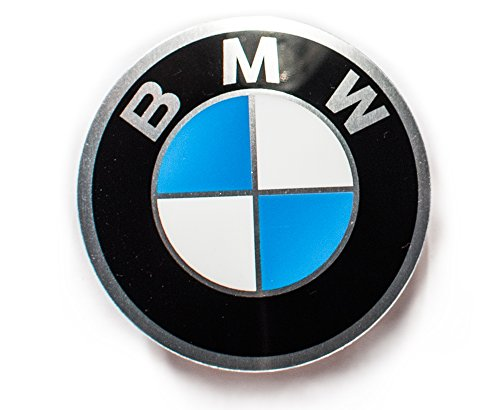 BMW 36131181082 Emblem Logo 45 mm Lenkrad Center Cap Badge Aufkleber