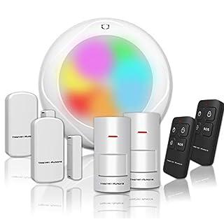 Tristan Auron Shield Starter Kit III Alarmanlage für Haus Wohnung, Alarm System, Sicherheit, Tür- und Fenstersensoren, Fernbedienung - erweiterbar