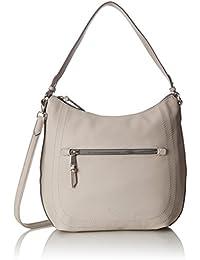 3e5430284ac Gabor Mona, Women's Shoulder Bag, Beige (Stone), 12x30x30 cm (B