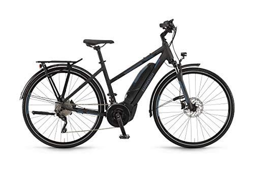 Unbekannt Winora Yucatan 20 2019 - Bicicletta elettrica da Donna, 500 Wh, Colore: Nero Opaco, Donna, 44 cm