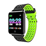 ZUEN Waterproof Fitness Tracker, Color Screen Activity Tracker With Heart Rate Blood Pressure