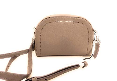 Marc Jacobs graue Leder Umhängetasche playback grey 20x15x4cm neu